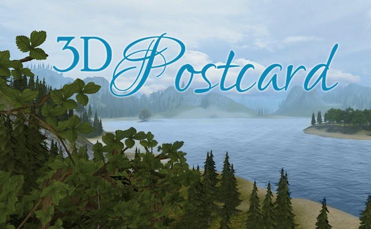 3D Postcard