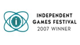 Award - Independent Game Festival 2007